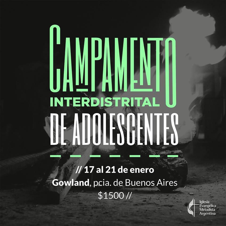 Campamento Interdistrital de Adolescentes