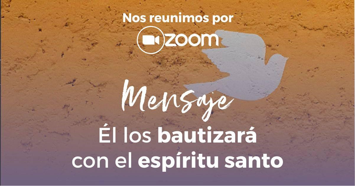Él los bautizará con el Espíritu Santo