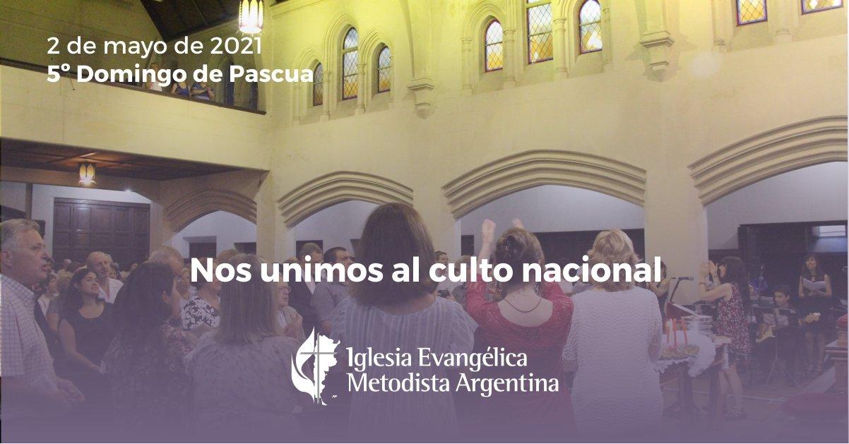 Culto nacional 2 de mayo: 5to domingo de Pascuas